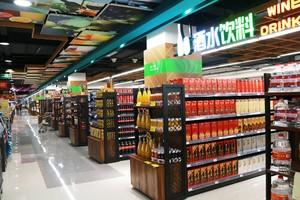 400平米超市簡約歐式風格裝修效果圖