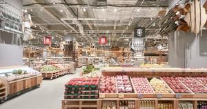 400平米超市歐式混搭風格裝修效果圖