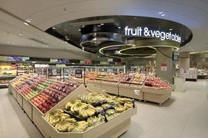 400平米超市北歐極簡風格裝修效果圖