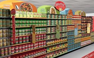 400平米超市簡歐風格裝修效果圖
