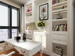 30平方复式日式简约风格房间橱柜设计装修效果图