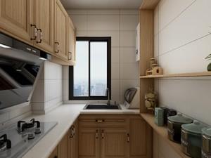 60平方公寓美式田园风格房间橱柜设计装修效果图