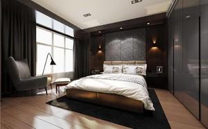 130平方别墅美式乡村风格房间橱柜设计装修效果图