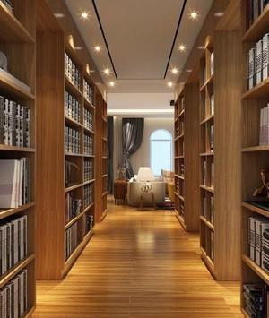 240平跃层现代简欧风格走廊橱柜设计装修效果图
