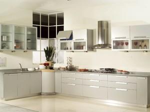 120平方别墅家庭橱柜设计装修效果图