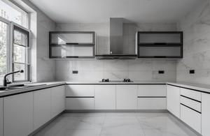 160平米别墅家庭橱柜设计装修效果图