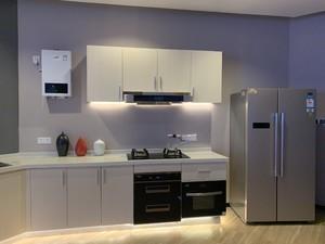 90平方别墅家庭橱柜设计装修效果图