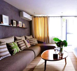 190平的房子客厅沙发窗帘装修效果图
