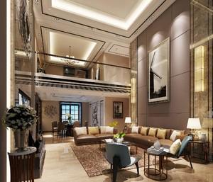 180平米公寓復式樓裝修效果圖