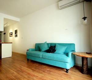 現代風格60平房屋客廳沙發裝修效果圖