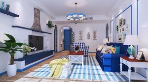 農村現代二層樓120平房屋地中海設計圖