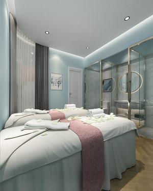 60平米小復式樓美容院裝修圖
