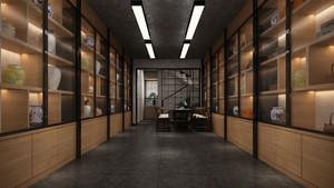 60平米复式楼商铺betway必威体育app官网效果图