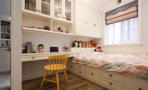 女儿房间榻榻米现代风格带衣柜装修效果图