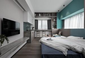 现代简约风格小户型50平房屋客厅装修效果图