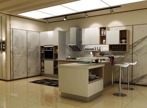 120平方別墅白色玻璃櫥柜裝修效果圖