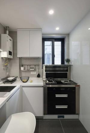 160平米別墅白色玻璃櫥柜裝修效果圖