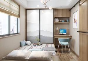 小戶型日式風格臥室7平榻榻米裝修效果圖