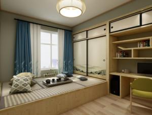 大戶型日式風格臥室7平榻榻米裝修效果圖