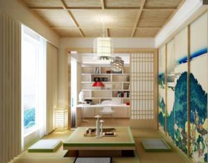 100平米三居室臥室9平榻榻米裝修效果圖