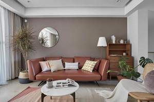89平米小戶型現代風格不規則房屋客廳裝修效果圖
