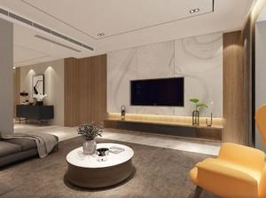 137平米三居室簡歐風格不規則房屋客廳裝修效果圖
