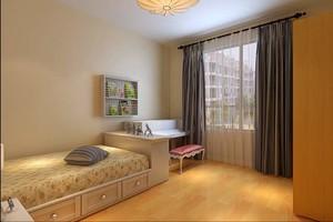3平米卧室硅藻泥榻榻米装修效果图