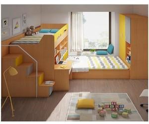 8平米卧室榻榻米上下床装修效果图