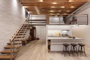 78平米清新風格頂層復式樓裝修效果圖