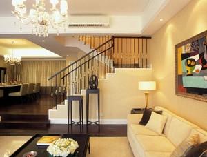 165平米歐式風格頂層復式樓裝修效果圖