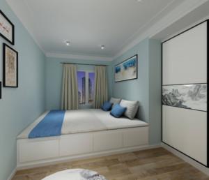 80平米两居室次卧榻榻米装修效果图