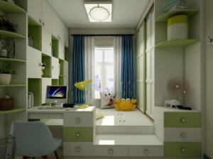 95平米两居室次卧榻榻米装修效果图