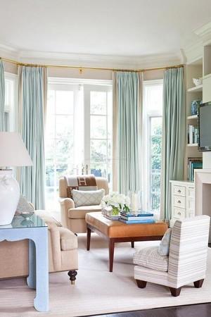 5平米美式陽臺窗簾圖片