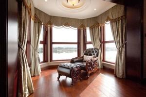 7平米美式阳台窗帘图片