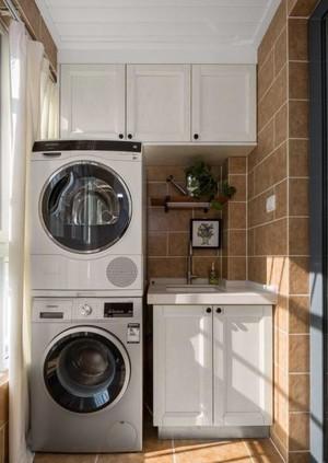 6平米阳台洗衣机柜图片