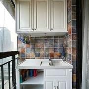 陽臺簡約瓷磚兩居室裝修