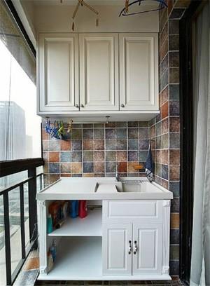 5平米阳台墙面瓷砖图片