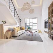 客廳簡歐走廊復式裝修