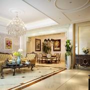 客廳現代走廊復式裝修