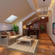 客廳簡約走廊復式裝修