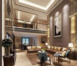 178平米現代風格復式樓走廊裝修效果圖