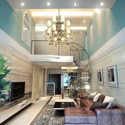 客廳歐式走廊復式裝修