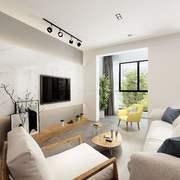 客廳簡約燈具兩居室裝修