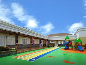 幼儿园露天阳台小花园装修效果图