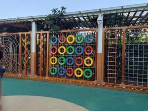 幼儿园阳台花园背景图