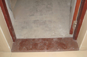 120平米中式風格三室兩廳客廳陽臺門檻石裝修效果圖