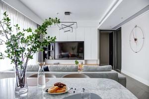 135平大戶型北歐風格簡單房屋裝修效果圖