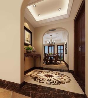 150平大戶型美式風格房屋玄關裝修效果圖