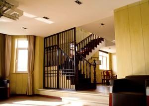150平復式樓中式風格裝修效果圖