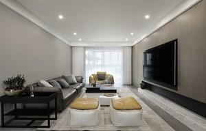 160平復式樓現代簡約風格裝修效果圖